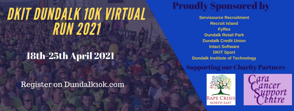 DkIT Dundalk 10k Virtual Run